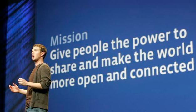 Presentación de Mark Zuckerberg