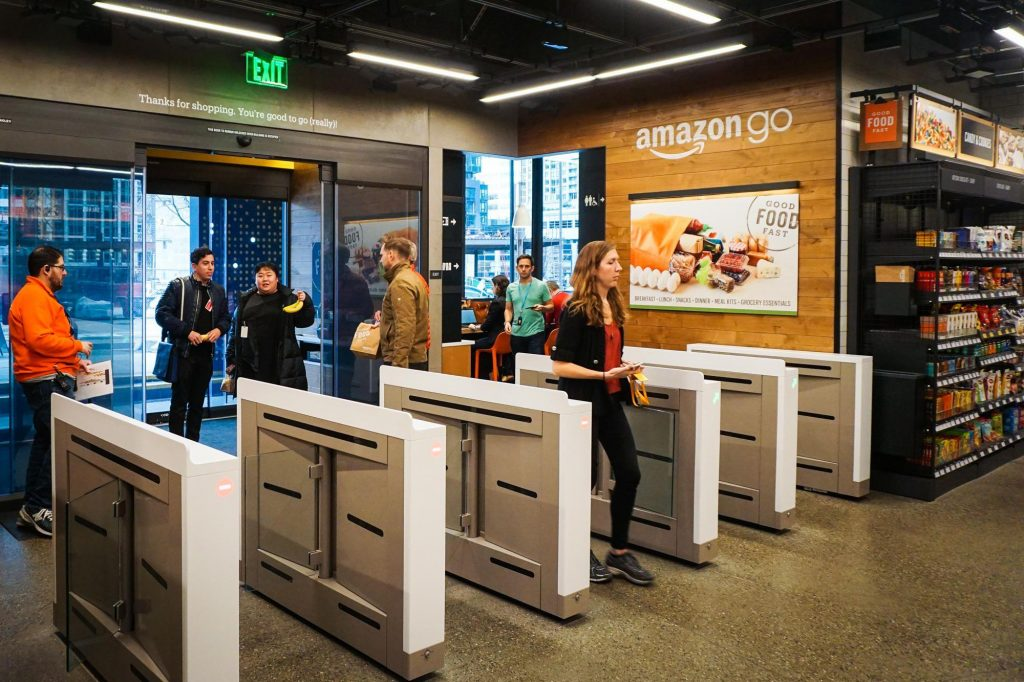 Tienda sin caja Amazon Go