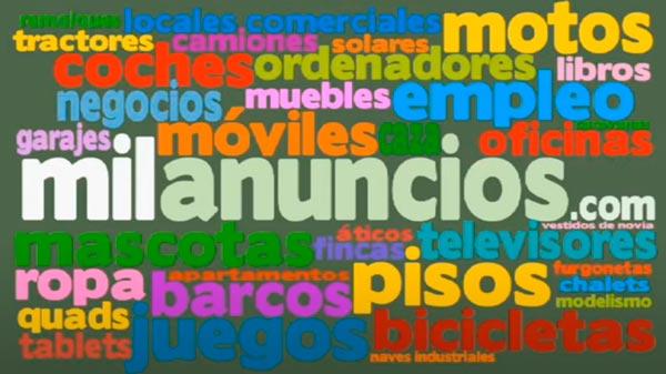 Imagen de la publicidad de Milanuncios en TV en 2013
