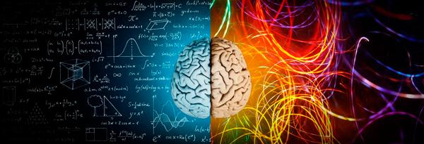Hemisferio izquierdo (racional) y derecho (emocional)