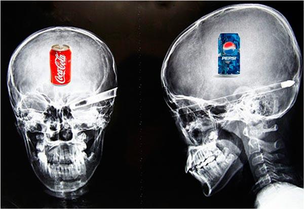 Comparativa clásica Coca-cola vs Pepsi