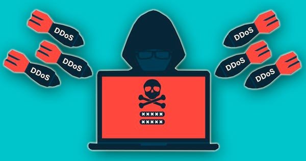 Ataque distribuido de negación de servicio. DDoS