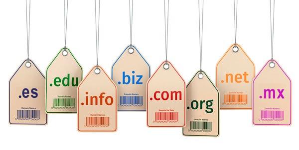 Ejemplos de TLD o dominios de nivel alto