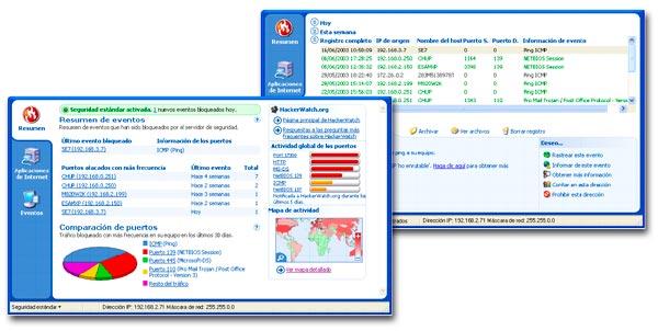Informes ofrecidos por un firewall de proveedor