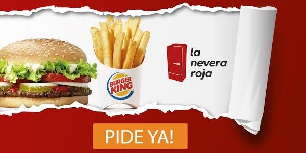 Burger King era uno de los locales de La Nevera roja