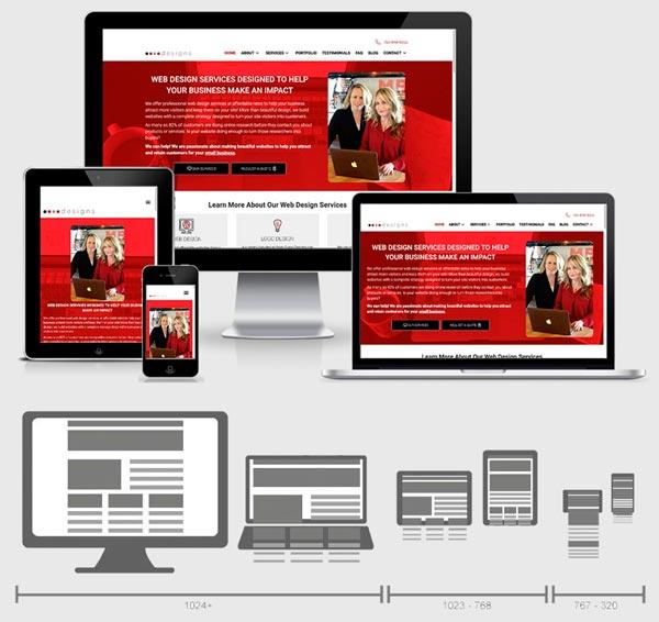 Diseño Web adaptable al dispositivo (responsive)