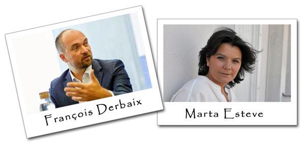 François Derbaix y Marta Esteve, fundadores de Toprural